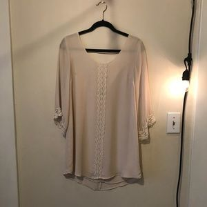 Cream ASTR dress